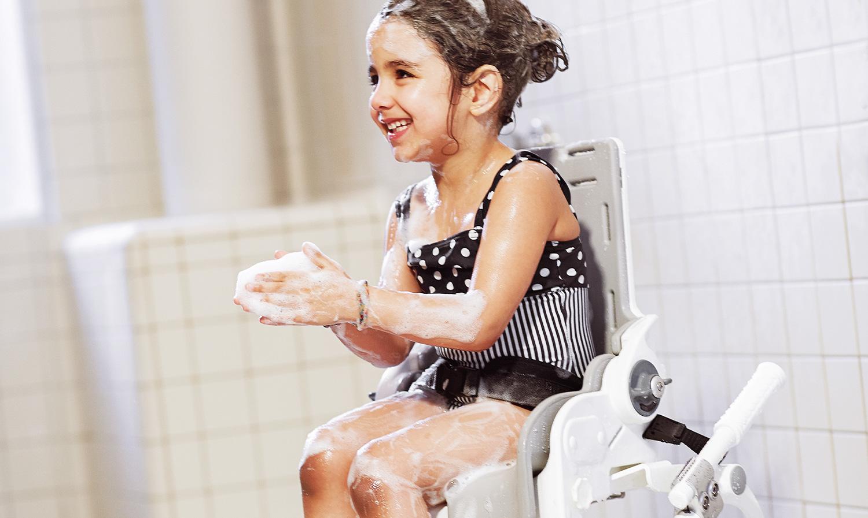 rehaKIND Hilfsmittel: Bad/WC & Pflege & Inkontinenz
