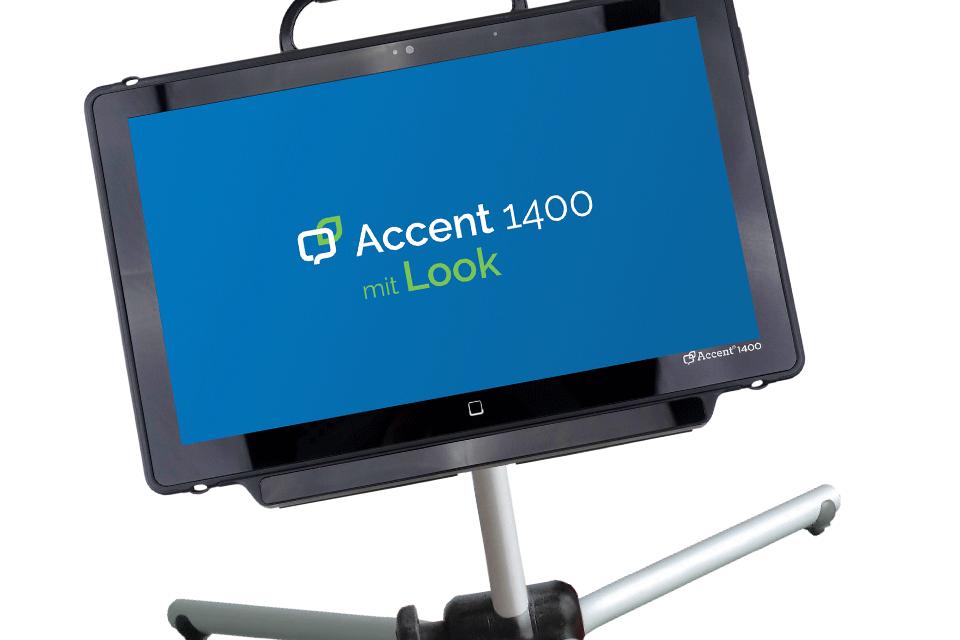 Accent 1400-30 mit Augensteuerung
